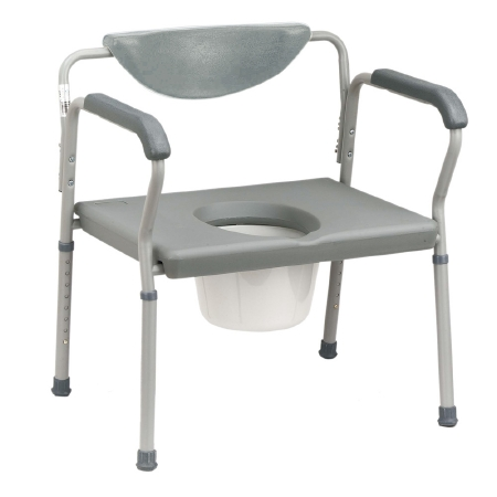 drive™ Deluxe Bariatric Commode