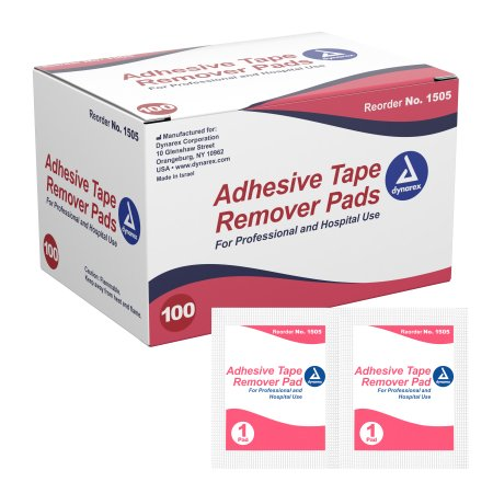 Adhesive Remover Pad 100 per Pack Product Image