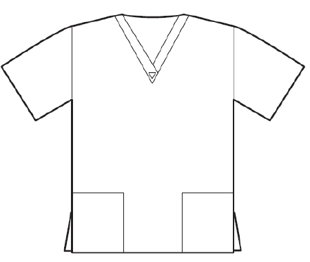 Fashion Seal Uniforms 7329 3XL - McKesson Medical-Surgical