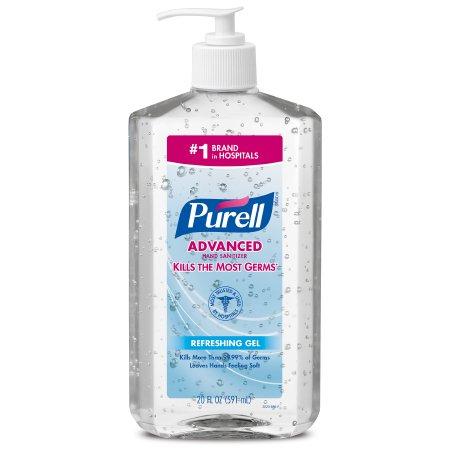 Hand Sanitizer Purell® Advanced 20 oz. Ethyl Alcohol Gel Pump Bottle Product Image