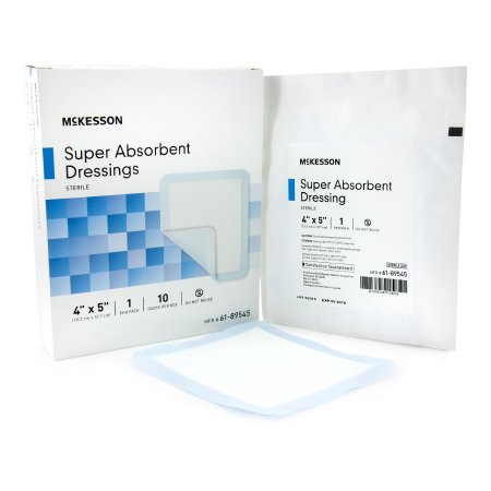 McKesson Super Absorbent Polymer Dressing