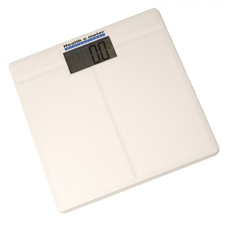 Floor Scale Health O Meter® Digital LCD Display 397 lbs. / 180 kg Weight Capacity White Battery Operated Product Image