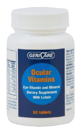 Geri-Care Eye Vitamin with Lutein Supplement