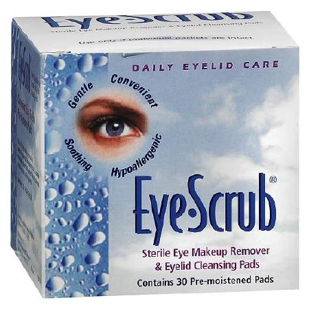 Novartis Eye-Scrub Pre-Moistened Pads Hyaluronic Acid Serum