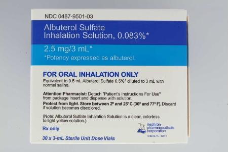Nephron Pharmaceutical 00487950103