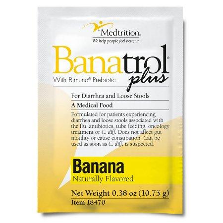 Oral Supplement Banatrol® Plus Banana Flavor Powder 10.75 Gram Individual Packet Product Image
