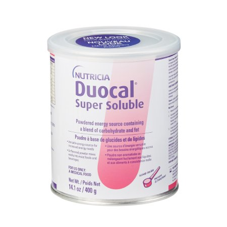 High Calorie Oral Supplement Duocal® Unflavored 14 oz. Can Powder Product Image