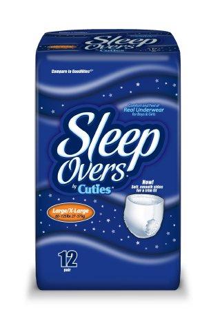 Cuties® Sleep Overs® Absorbent Underwear