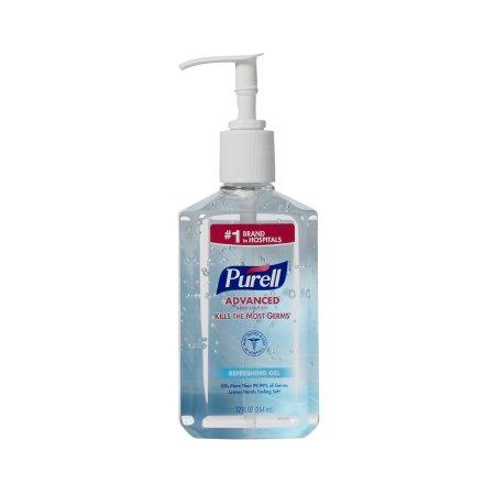 Hand Sanitizer Purell® Advanced 12 oz. Ethyl Alcohol Gel Pump Bottle Product Image