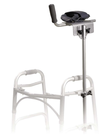 drive™ Platform Walker/Crutch Attachment, For Use With Adult and Junior Walkers / Crutches, 5.75 in. W x 18 in. D x 37 - 53 in. H