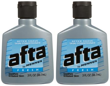 Afta® After Shave Skin Conditioner, Fresh Scent, 3 oz. Bottle