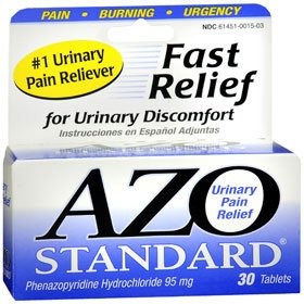 AZO Standard - Urinary Pain Relief 95mg Strength Tablets (30/Bottle)
