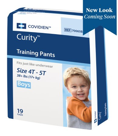 Male Youth Training Pants Curity™ Pull On with Tear Away Seams X-Large Disposable Heavy Absorbency Product Image