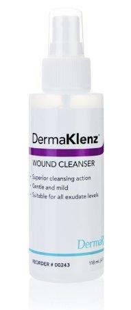 Wound Cleanser DermaKlenz® 4 oz. Spray Bottle Zinc Acetate Product Image