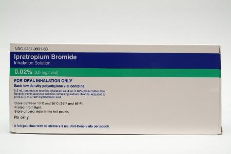 Nephron Pharmaceutical 00487980160