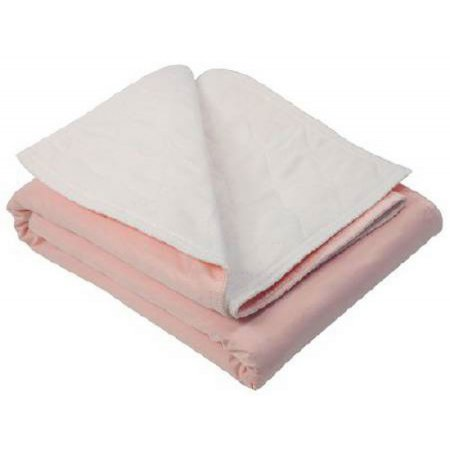 Underpad with Tuckable Flaps Birdseye 34 X 36 Inch Reusable Polyester / Rayon Heavy Absorbency Product Image