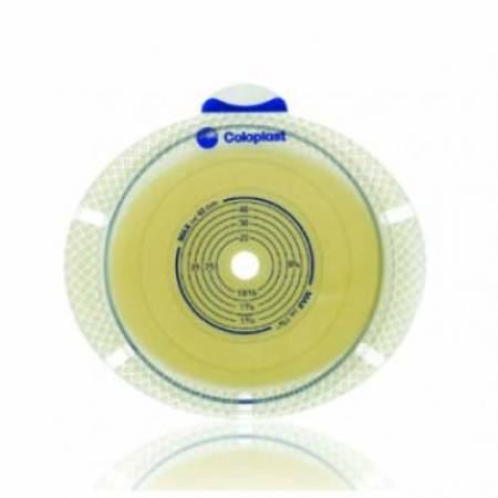 COLOPLAST  10106 Ostomy Barrier SenSura® Flex Xpro Adhesive Coupling Yellow Code