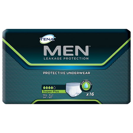 Male Adult Absorbent Underwear TENA® MEN™ Pull On with Tear Away Seams Medium / Large Disposable Moderate Absorbency Product Image