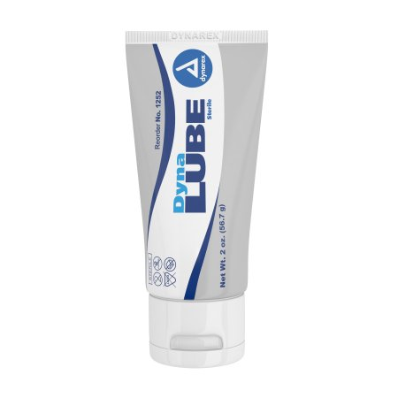 Lubricating Jelly DynaLube 2 oz. Tube Sterile Product Image
