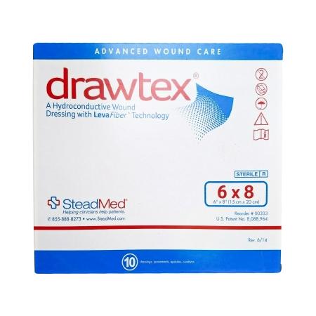 Non-Adherent Dressing Drawtex® LevaFiber 6 X 8 Inch Product Image