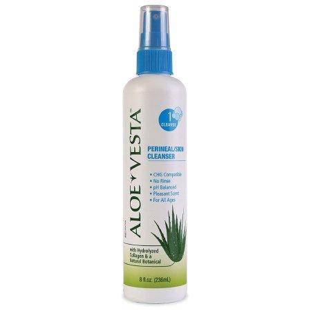 Perineal Wash Aloe Vesta® Liquid 8 oz. Pump Bottle Citrus Scent Product Image