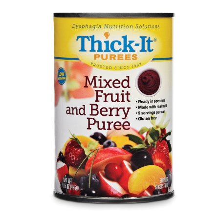 Puree Thick-It® 15 oz. Can Mixed Fruit and Berry Flavor Ready to Use Puree Consistency Product Image