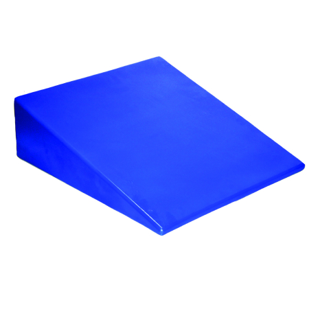 Skillbuilders® Positioning Wedge, Foam, 20 in. L x 22 in. W x 10 in. H, Blue