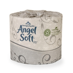 Angel Soft Professional Series Toilet Tissue, 450 sheets per roll 2-ply (80/case)