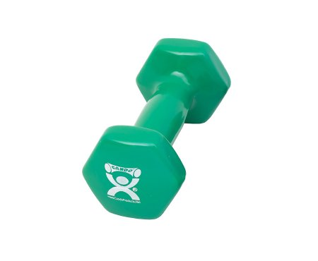 Dumbbell Hexagon Heads CanDo® 3 lbs. Product Image