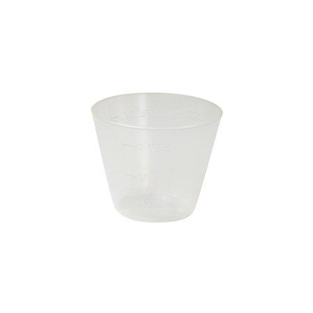 Graduated Medicine Cup Dynarex® 1 oz. Clear Plastic Disposable Product Image