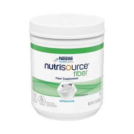 Oral Supplement Nutrisource® Fiber Unflavored Powder 7.2 oz. Canister Product Image