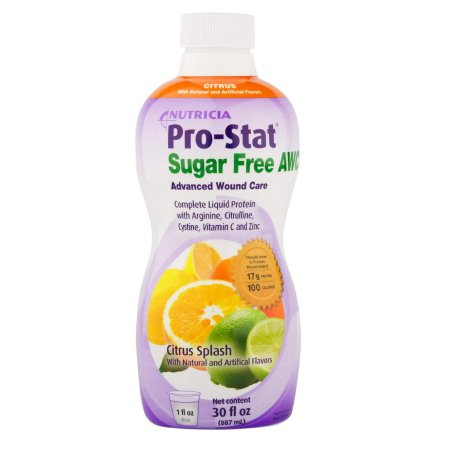 Protein Supplement Pro-Stat® Sugar Free AWC Citrus Splash Flavor 30 oz. Bottle Ready to Use Product Image