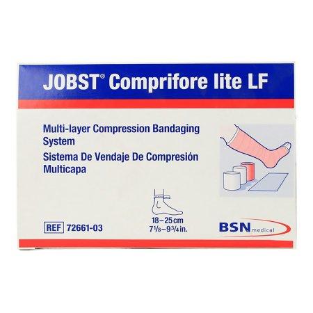 3 Layer Compression Bandage System JOBST® Comprifore® lite LF 40 mmHg No Closure Tan / White NonSterile Product Image