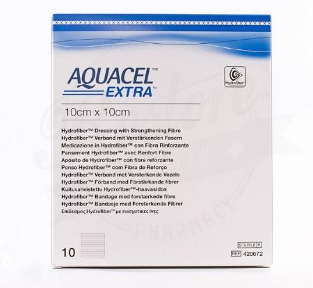 Aquacel® Extra™ Hydrofiber Dressing