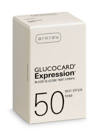 Glucocard Expression Blood Glucose test Strip (50/box)