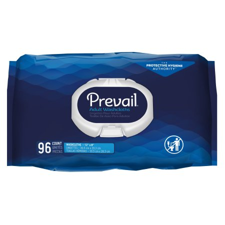 Personal Wipe Prevail® Soft Pack Aloe / Vitamin E / Chamomile Scented 96 Count Product Image