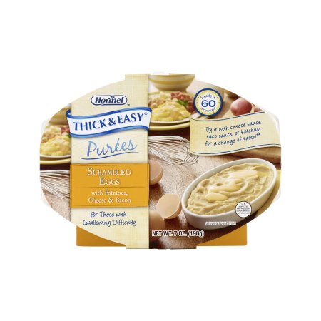 Puree Thick & Easy® Purees 7 oz. Tray Scrambled Eggs / Potatoes Flavor Ready to Use Puree Consistency Product Image