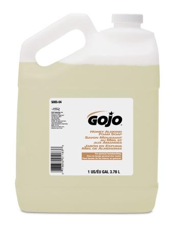 Clear Almond 1 gal Foam Soap Bottle