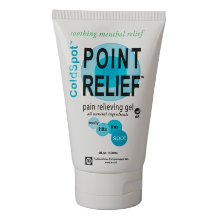 Topical Pain Relief Point Relief® ColdSpot™ 0.06% - 12% Strength Menthol / Methyl Salicylate Topical Gel 4 oz. Product Image