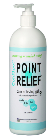 Topical Pain Relief Point Relief ColdSpot 0.06%-12% Strength Menthol/Methyl Salicylate Gel (1/each)