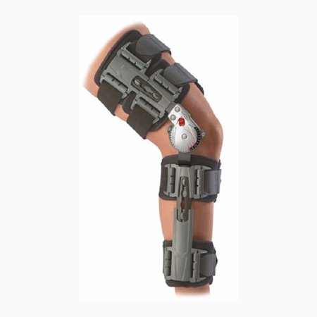 Knee Brace X-Act ROM™ One Size Fits Most Hook and Loop Closure Adjustable Length Left or Right Knee Product Image