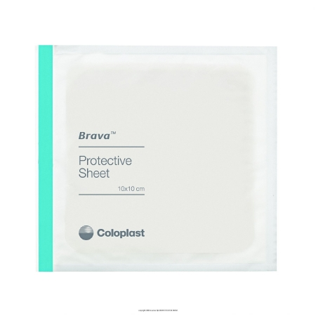 Stoma Skin Protective Sheet Brava™ 4 X 4 Inch Product Image