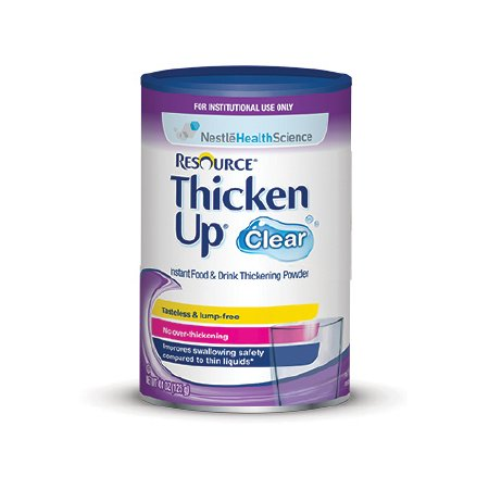 Food and Beverage Thickener Resource - Thickenup 4.4 oz Canister - Unflavored (12/case)