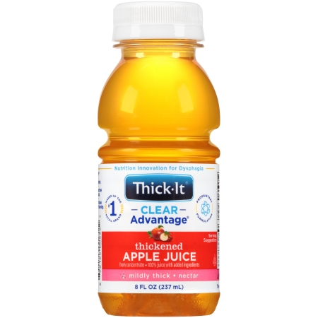 Thick-It® Clear Advantage® Ready to Use Thickened Beverage, 8 oz. Bottle, Apple
