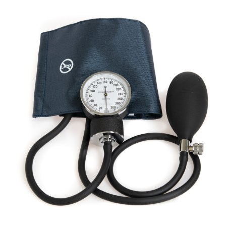 Aneroid Sphygmomanometer with Cuff McKesson Brand 2-Tube Pocket Size Hand Held Small Adult / Child Small Cuff Product Image