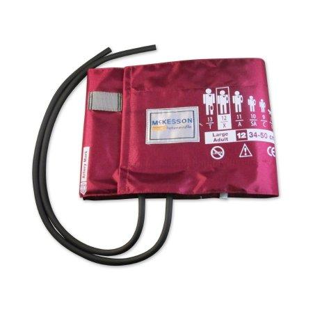Blood Pressure Cuff McKesson LUMEON™ Adult Arm Large Cuff 34 - 50 cm Nylon Cuff Product Image
