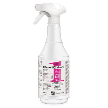 CaviCide1™ Surface Disinfectant Cleaner Alcohol Based Liquid 24 oz. Bottle Alcohol Scent NonSterile Product Image