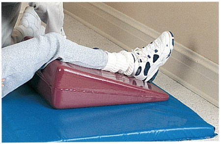 Tumble Forms® Valu-Line wedge, Foam, 28 in. L x 24 in. W x 8 in. H, Red