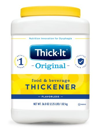 Food and Beverage Thickener Thick-It® Original 36 oz. Canister Unflavored Powder Consistency Varies By Preparation Product Image