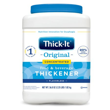 Food and Beverage Thickener Thick-It® Original Concentrated 36 oz. Canister Unflavored Powder Consistency Varies By Preparation Product Image
